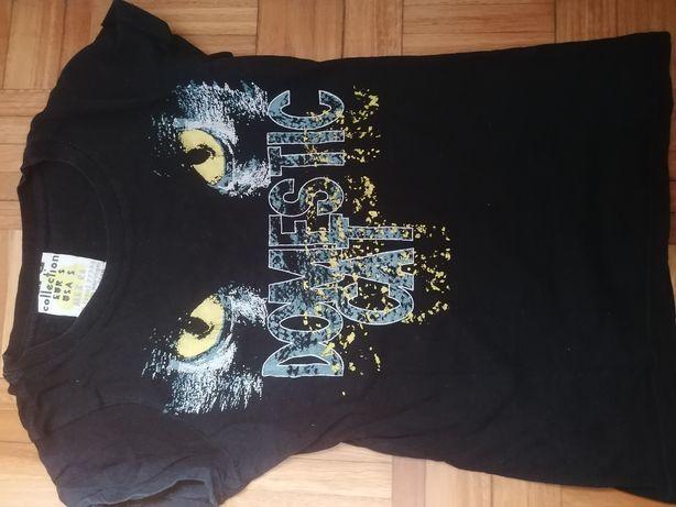 T-shirt Zara preta