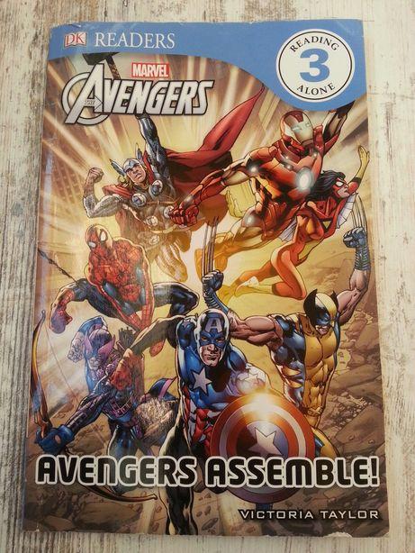 Комикс Marvel Avengers