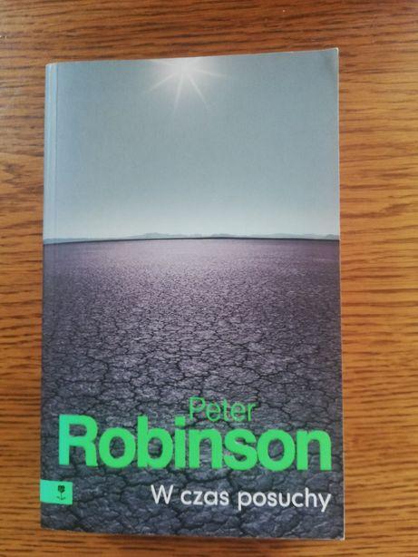 """Książka """"W czas posuchy"""" Peter Robinson"""