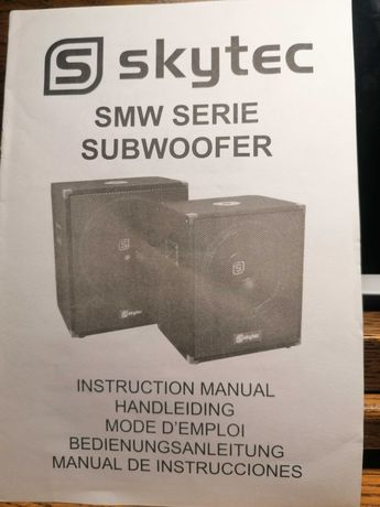 Subwoofer 1000w nowy