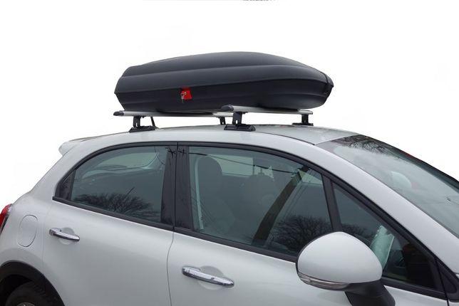 Бокс на крышу автомобиля 320л. Kenguru Discovery Carbon