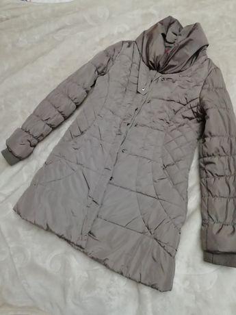 Płaszcz pikowany zimowy ze stojka 38 40 42