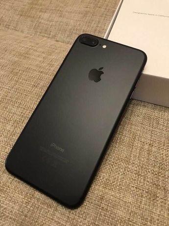 Идеальный iPhone 7+ Plus 128Gb Matte Black Neverlock Айфон семь плюс