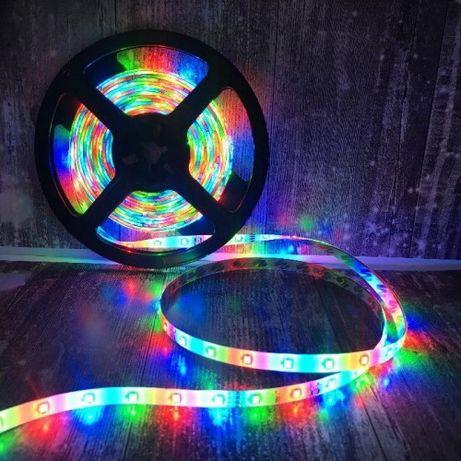 5 МЕТРОВ! Лента светодиодная подсветка 5050 RGB Світлодіодна стрічка