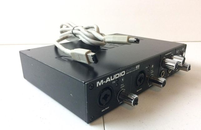 Interface audio M-audio