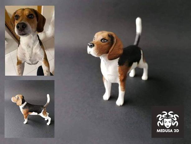 Animais de Estimação Personalizados - Impressão 3D - Cão - Gato - Etc