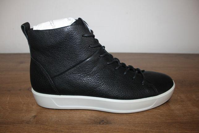 Кожаные кеды, ботинки Ecco Soft 8