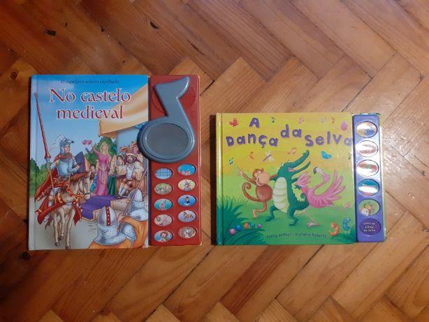 Livros infantis com som