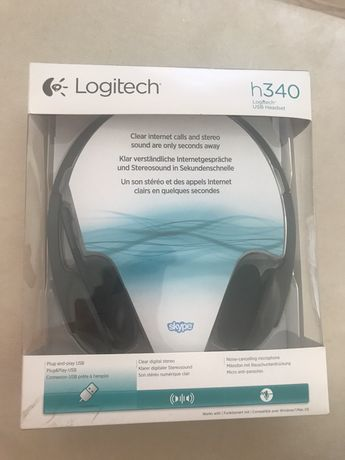 Słuchawki logitech h340