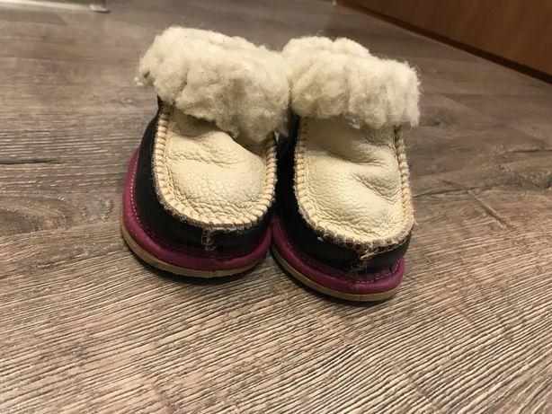 Теплые ботиночки 12 см на ножку