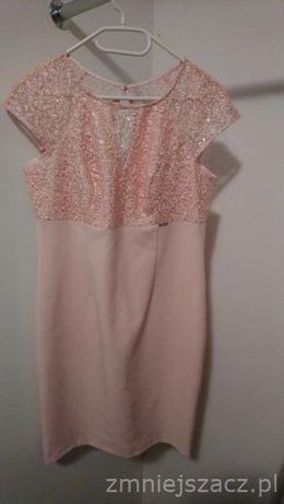 Sukienka w kolorze różowym