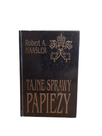 """Książka """"Tajne sprawy papieży"""" - R. Haasler"""