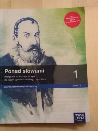 Sprzedam podręcznik do jezyka polskiego dla 1 klasy po 8 klasie 2 cz.