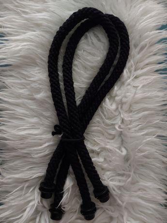 Liny plecione obag czarne