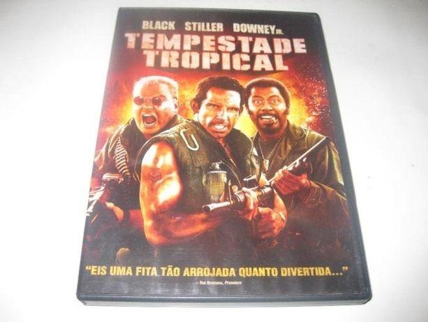 "DVD ""Tempestade Tropical"" com Robert Downey, Jr."