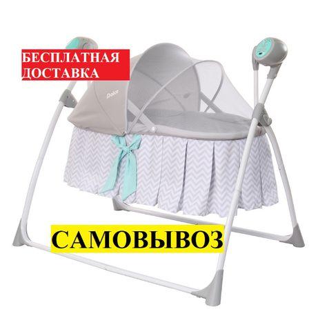 Электронная люлька качели Carrello Dolce CRL-7501 от рождения до 9 кг