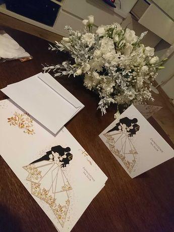 Zaproszenia ślubne do samodzielnego wypisania