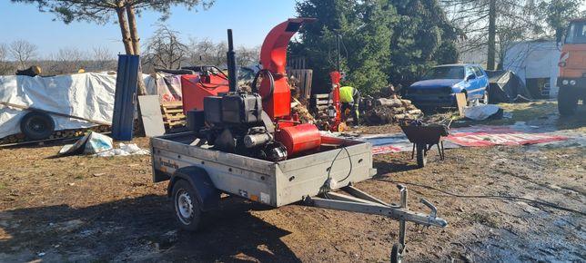 Rebak rozdrabniacz gałęzi es spalinowy diesel