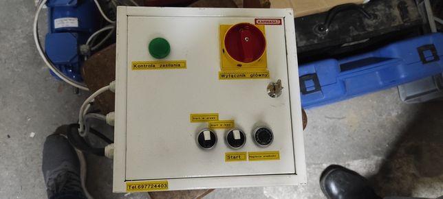 Kompletne sterowanie silnika 0.37 kV z osobnym chłodzeniem