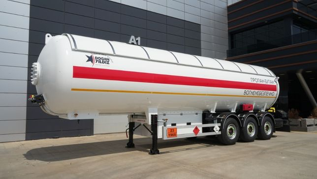 LPG газовоз полуприцеп-цистерна для перевозки сжиженных газов