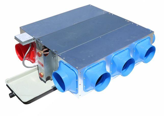 Ventiloconvector de conduta horizontal 7,20Kw / 10,80Kw