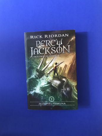 Percy Jackson i Bogowie Olimpijscy - Rick Riordan