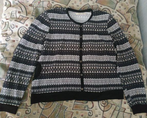Женская кофточка-свитерок р.52