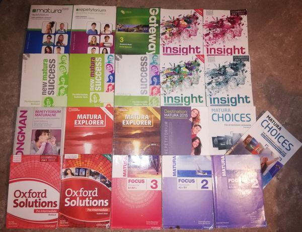 Sprzedam podręczniki i repetytoria z angielskiego!