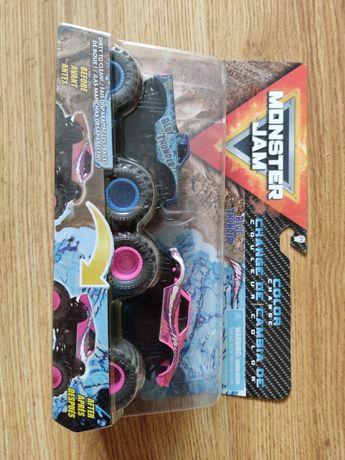 Zestaw samochodów pojazdów Monster Jam 2-pak Color Change