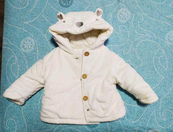 Куртка детская (мягусенькая),очень теплая (на осень или еврозиму)