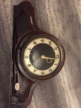 Stary zegar mechaniczny S&G Keramik-uszkodzony