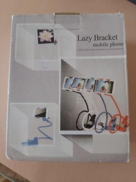Lazy bracket / mola para telemovel ou tablet extensível semi rígido