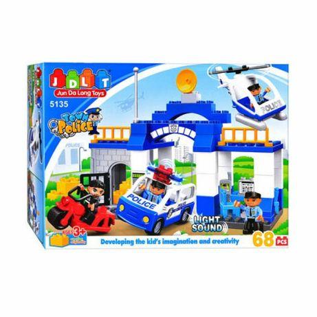 Конструктор JDLT 5135 Аналог Lego Duplo 5681 Полицейский участок 68
