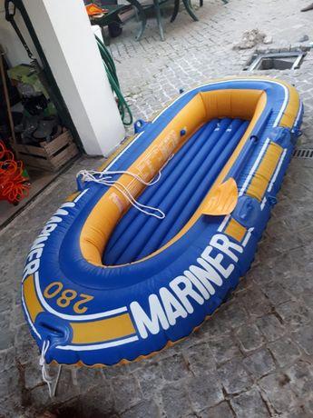 Barco Insuflável Mariner 280 + Remo