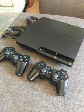PlayStation 3 Slim 160gb com caixa