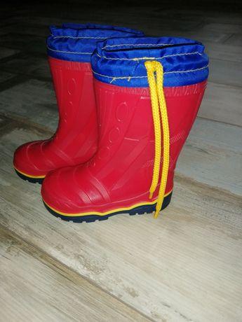 Резинові чобітки 24 розмір