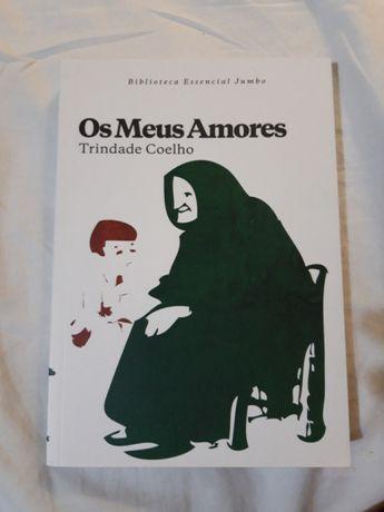 """Livro """"Os meus amores"""" de Trindade Coelho"""