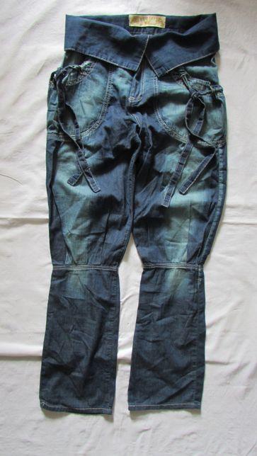 Spodnie REDIAL Diamond Bershka nowe bawełna M