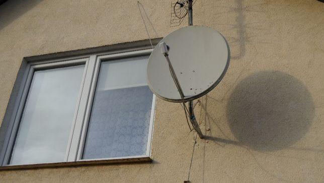 Montaż anten satelitarnych i naziemnych Pruszcz Gdański i okolice