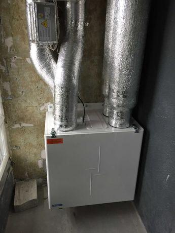 Вентс ВУТ 350 ВБ ЕС А14. Приточно-вытяжная установка с рекуператором