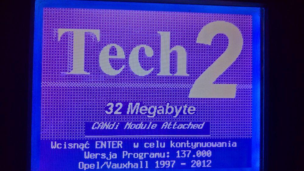OPEL Tech2 MDI, diagnostyka, cim kodowanie wymiana, odczyt carpass. Nowe - image 1
