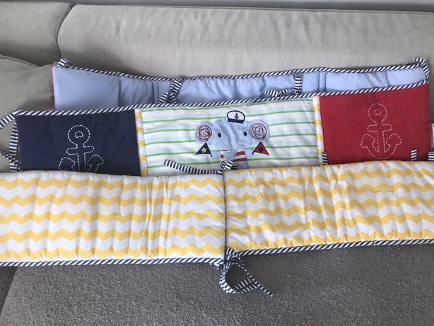Защита бамперы бортики в детскую кроватку!