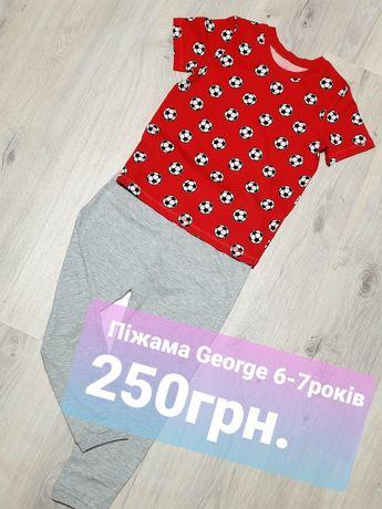 Піжама George  6-7років