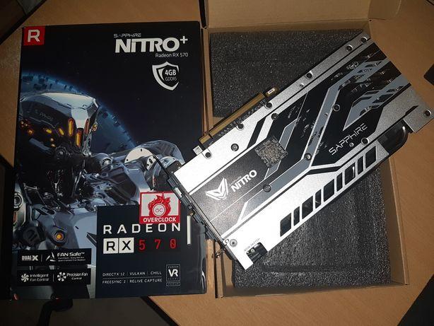 Placa Gráfica Sapphire NITRO+ Radeon™ RX 570 4GB G5 OC