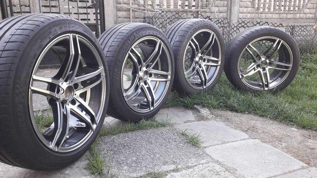 Koła Felgi Tomason Tn12 BMW 18cali 5x120 et35 Opony letnie Michelin