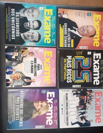 """Revistas  """"Exame"""" e """"Exame Informática"""" 2019/2021"""