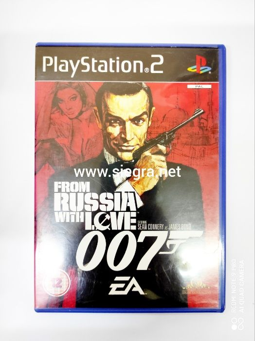 From Russia with love 007 Ps2 Suwałki - image 1
