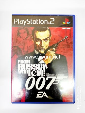 From Russia with love 007 Ps2