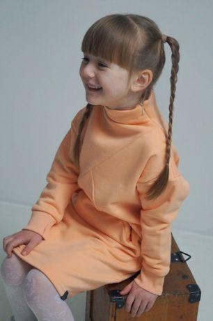 Тёплое платье для девочки