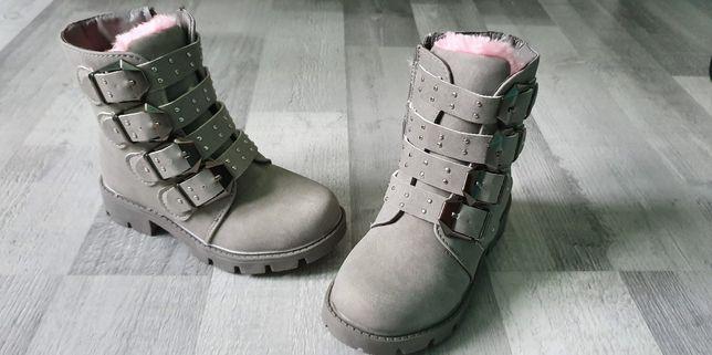 Obuwie buty zimowe